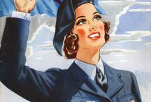 RNZAF Recruiting - Women / Historic recruiting brochures and posters for women in the Royal New Zealand Air Force (RNZAF), from the archives of the Air Force Museum of New Zealand. Includes the Women's Auxiliary Air Force (WAAF) 1941-1947 and Women's Royal New Zealand Air Force (WNZAF) 1954-1977.