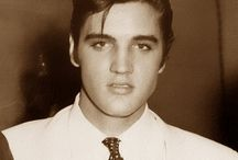 ♥ The King ♥  / The one and only Elvis Presley / by Bradley Walker