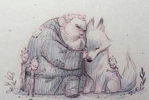 Hra O Tróny kresby