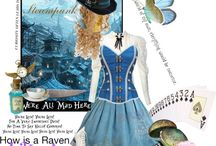 Untitled 3 / Steampunk kind of Alice in wonderland decades after she left