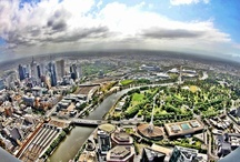 Beautiful Melbourne / Amazing views of the Melbourne city! Oh my, she is beautiful! / by Eureka Skydeck