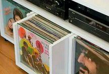 Estante de discos