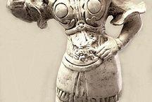 【歴史】彫像 工芸品