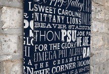 Penn State Decor / by Lindsey Sechrist