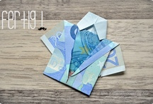 Geldscheine als Geschenk falten / Gute Ideen