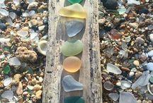 Verre roulé / sea glass