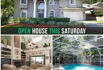 Orlando Area | Homes / Looking for homes in The City Beautiful? We've got you covered. Check this board for open houses hosted by The Light Team!