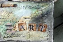 ARTsy wood,paint,metal,glass....   / artistic creations from metal, glass, wood, etc.... / by Lou H