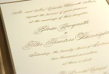2015 Wedding Invitation Suites / Exquisite new designs that are rich in process and celebrate our legacy of timeless and refined craftsmanship.  / by Crane & Co.
