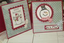 Handmade Cards- SU- Cold Play / SU cold Play