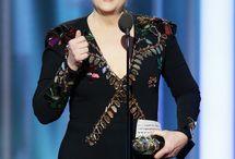 Meryl Streep at the 74th Golden Globe Awards-January 8, 2017 / Press Room