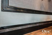 Zócalos - Rodapies /  Exxent Decor comercializa on line sólo los productos de la marca Orac Decor. Te sorprendera el valor añadido que puedes generar en tus decoraciones y podrás personalizar tu estilo con una fácil instalación Entra en las carpetas de Proyectos y podrás ver un mundo de ideas que seguro que te ayudarán.