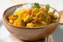 Chicken kokos Curry