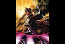 Gambit - Cause everyone's always asking who my favorite X-Man/Super hero is.