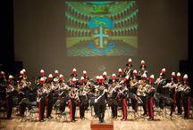 Alamari Musicali / Bande e Fanfare di Forze Armate, Corpi di Polizia e Associazioni d'Arma della Repubblica Italiana, della Repubblica di San Marino e dello Stato della Città del Vaticano.