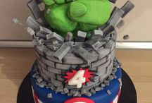 gâteau hulk
