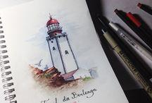 Мои иллюстрации / Небольшие ежедневные порисушки❤️