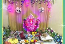 ganpati decorations for home