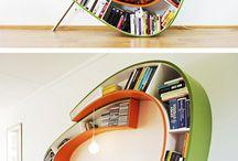 Bookshelf Love / bookshelves / by Melissa Taylor @ImaginationSoup