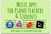 Piano / Tips and activities for teaching piano in a private or group setting and tips for managing a private studio.