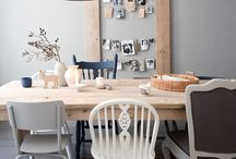 Keukentafel en keuken / Keukentafel ideeen