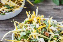 Slaw salads