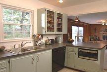 Vintage Wooden Kitchen / vintage wooden kitchen cabinets