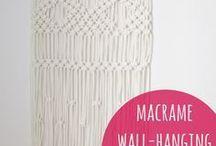 Macrame & seinävaatteet