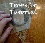 Wax paper transfers