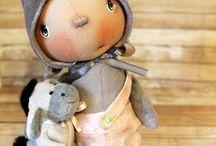 куклы мишки зайки