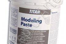 Modelado / Pasta de modelado para pintura al óleo y acrílica >> Repro-Arte, Taller y Tienda de Bellas Artes para artistas.