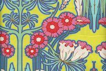 Beautiful Fabrics / Pattern Love - A selection of Beautiful fabric designs that caught my eye.
