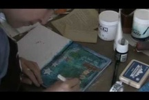 VIDEOS: ART VIDEOS / Art videos showing how to art journal or do other techniques for using in your art.