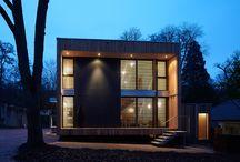 maison cube 45 so'BOIS à verrières-le-buisson (91) / maison contemporaine bois so'BOIS