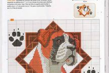 Cross stitch - boxers