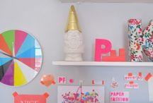 Craft Room  / Ideas to organize, decorate craft room