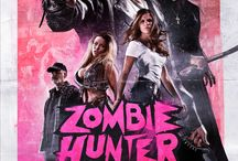 B-Movie Posters / zombie hunter postes