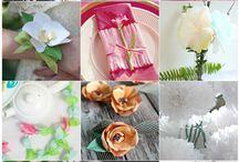 fiorin fiorello...flowers diy... / by Chiara Zenga