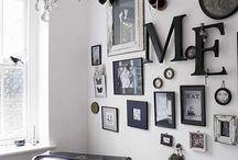 Wall ideas / obrazy / ramki
