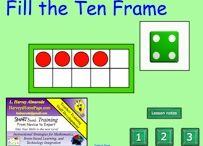Five Frames & Ten Frames / A ten frame is a five-by-two array used to support the development of the important landmark numbers five and ten. - It Makes Sense!: Using Ten-frames to Build Number Sense, Grades K-2, Melissa Conklin  / by CSISD Math Specialists