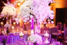цветочные композиции на столах гостей