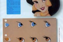 ojos para porcelana fria