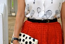 Gamine and quirky style