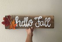 Christmas & Fall Craft Ideas