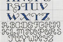Cross stich alphabet