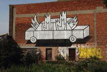 Street Art in Flanders - Belgium