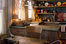 Cozy Kitchens / by Dana Holly-Inman