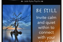 Soul Snippets ★ Jade Kyles Psychic / Soul Snippets Quotes to share. Blessings, inspiration, positivity and greetings are being sent your way with my Soul Snippet's Quotes. ♡ Many blessings Jade Kyles Psychic ♡ Thanks for connecting. I would love you to visit me at www.jadekyles.com or on fb at www.facebook.com/jadekylespsychic . You can also subscribe to my channel at www.youtube.com/jadekylespsychic