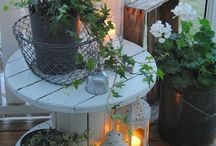 Ideoita pihalle ja puutarhaan