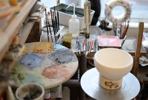 Handpainted Custom Porcelain / When in Sees, make sure to visit this charming shop to have a custom piece of porcelain painted just to your liking.